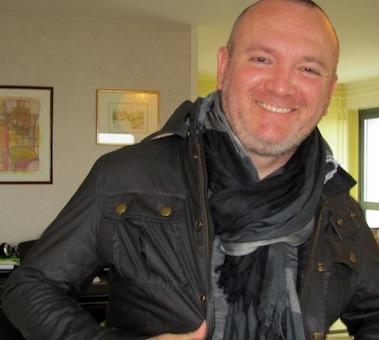 George Marks de passage à Redon au printemps 2014