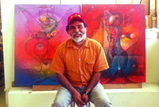 Alvaro, artiste peintre vénézuélien : la peinture au-delà des frontières...
