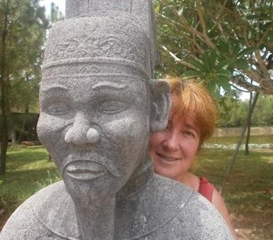 A Douarnenez sans frontières, avec  Caroline Troin