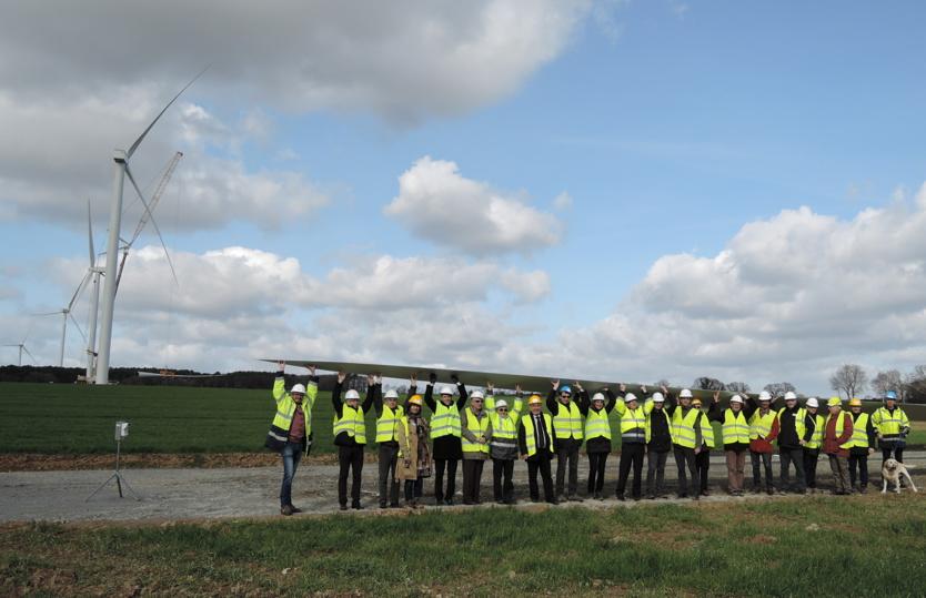 En février 2017, un troisième parc éolien citoyen est lancé sur la commune d'Avessac en pays de Vilaine.