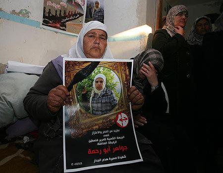 Une manifestante non-violente tuée en Palestine