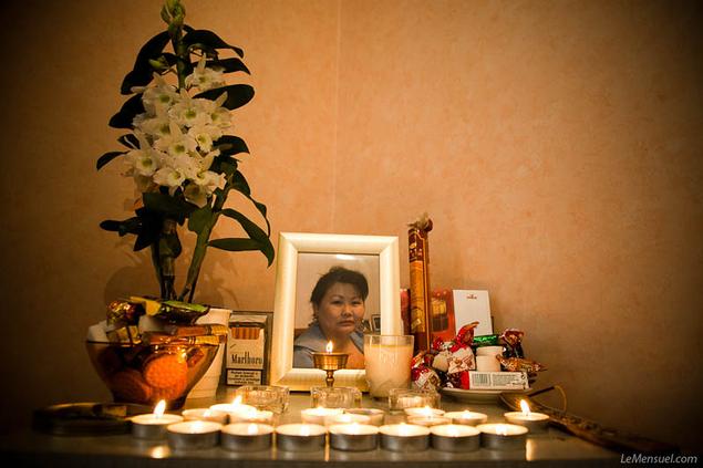 La mort de Mingaltai, malade mais étrangère