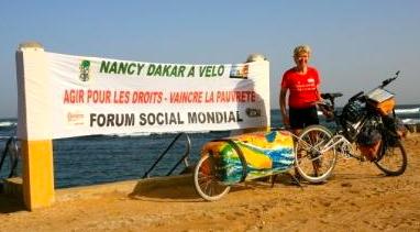Un Paris-Dakar solidaire à vélo