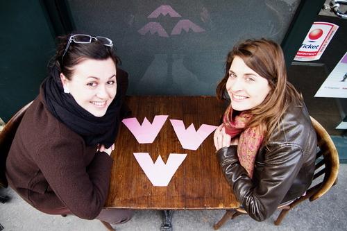 Zélie et Fanny écriront leurs reportages sur le site de l'association www.whatwomenwish.fr
