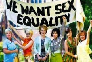 """Avec les ouvrières de """"We want sex equality"""""""