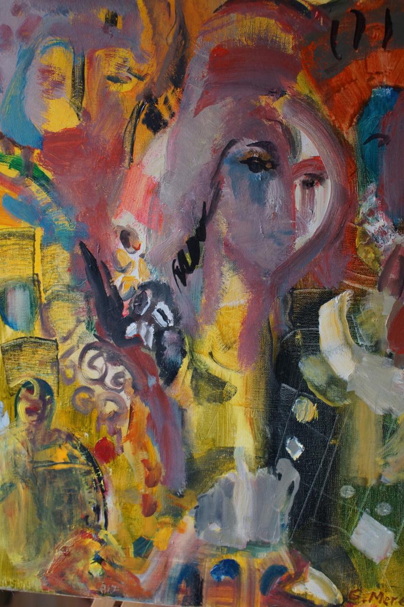 Leur maison est un havre de paix pour artistes réfugiés