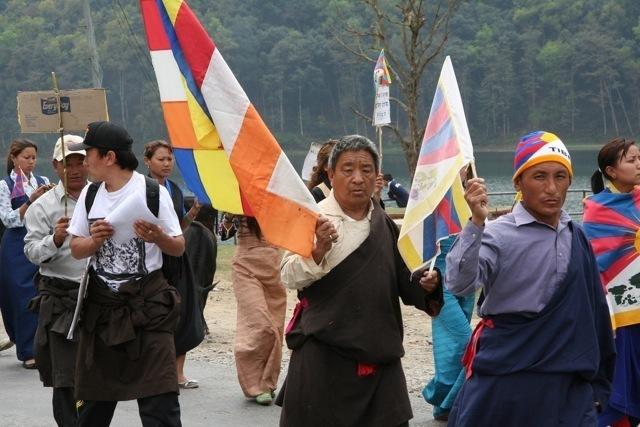 Manifestation de Tibétains népalais (tboothhk cc)