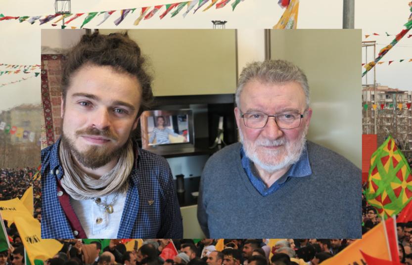 André Métayer et son jeune successeur, Tony Rublon