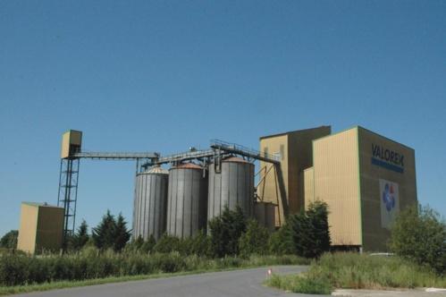 Usine Valorex à Combourtillé près de Fougères en Ille-et-Vilaine
