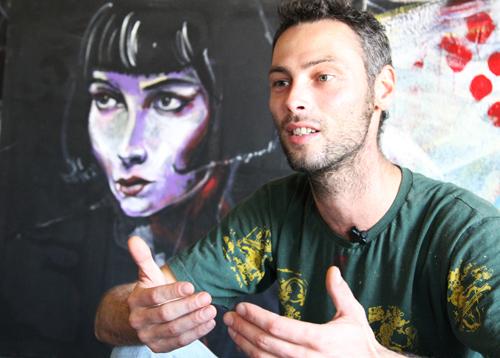Heol, un peintre solaire à travers le monde