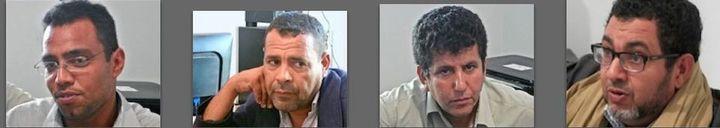 Ali, Moncef, Mouez et, à droite, le nouveau député Omar Chetoui