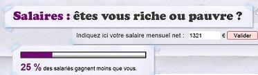 Salaires : êtes-vous riche ou pauvre ?