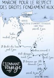 Sur le chemin, soudain, un Etonnant Voyage