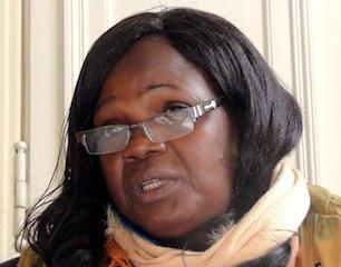 Azara Campaoré, militante burkinabé
