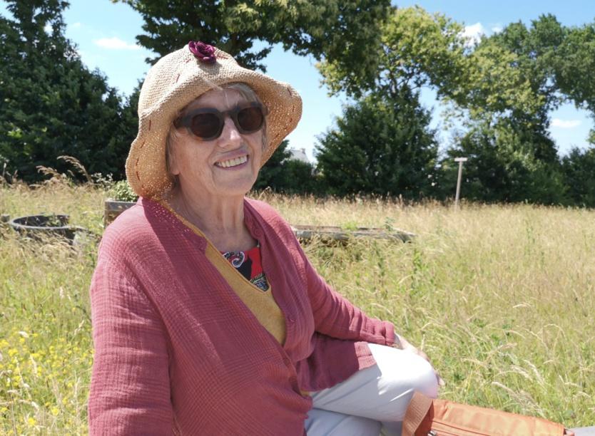 Marie-Annick partage Le Temps du regard
