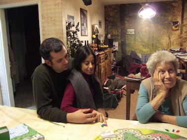 Chez les Bois, dans l'Orne, avec les Cox, ses jeunes amis chiliens