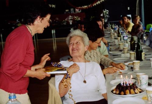 Fête anniversaire chez ses grands amis agriculteurs de l'Orne