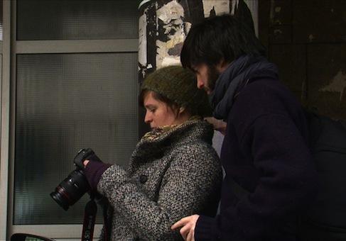 Les deux photographes Marie Färber et François Eluard. Découvrez leur blog en cliquant sur l'image.