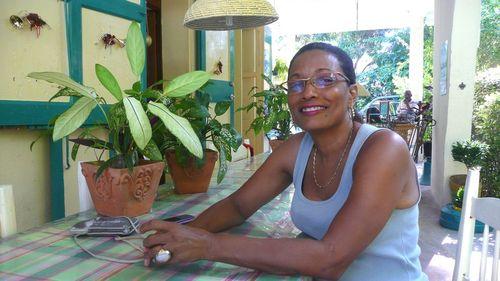 Juliette, une des fondatrices du centre