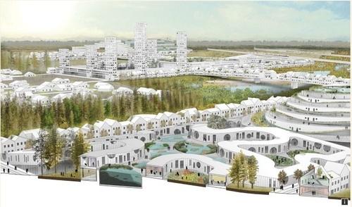 "Cinq urbanistes américains repensent ""l'Américan way of Life"""