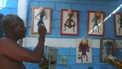 L'artiste de la récup' André Eugène, « atis-rezistan » d'Haïti