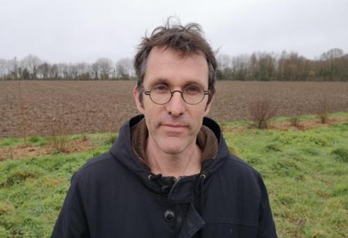 Benoit Rolland, co-gérant et paysan associé. de la Ciap, coopérative d'installation en agriculture paysanne.