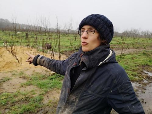 Élisa Curot-Lodéon a créé les Rameaux gourmands