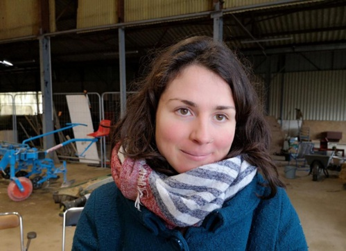 Marion Le Bihan, animatrice de la Ciap