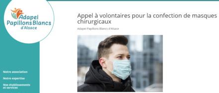 Fabrication de masques : les esat et entreprises adaptées à la rescousse
