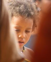 Enfant malien dans le camp de M'bera (Photo Jaspreet Kindra/IRIN)