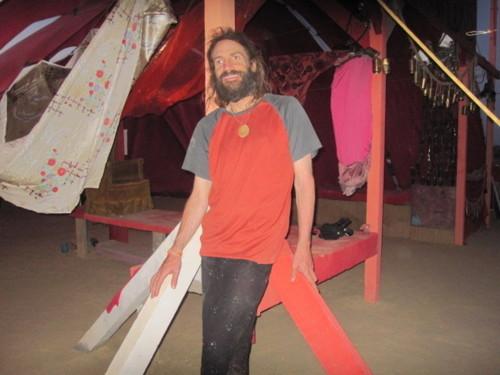 Dave Bradshaw, co-fondateur d'un festival artistique affranchi