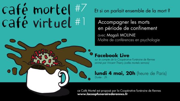 """Un """"Café mortel"""" virtuel pour accompagner les morts en période de confinement"""