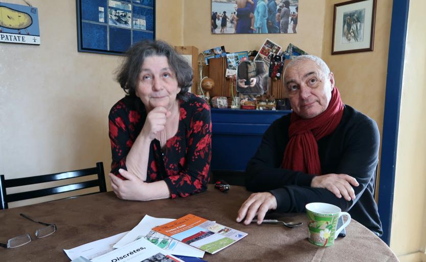 Chantal Lelièvre et Loïc Choneau ©  Michel Rouger