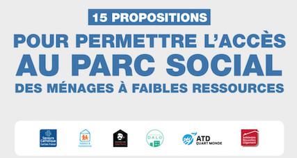 Les plus pauvres exclus du logement social : 15 propositions