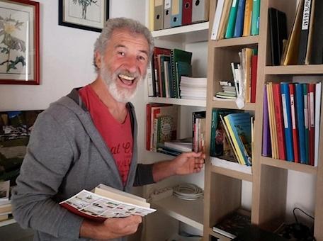 Jean-Pierre Nicolas, anthropologue, ethnobotaniste et ethnopharmacologue (photo : T. Ruellan).