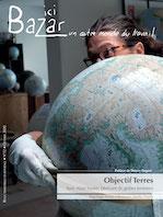 """Sur """"Ici Bazar"""" : """"Objectif Terres"""", avec un fabricant de globes terrestres en plâtre"""