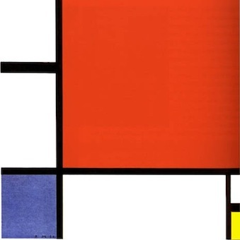 Pascal Gault (sur Google +) - Mondrian, composition, 1930.