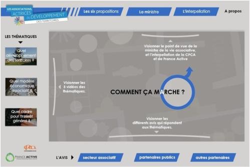 Un webdoc pour défendre le rôle des associations
