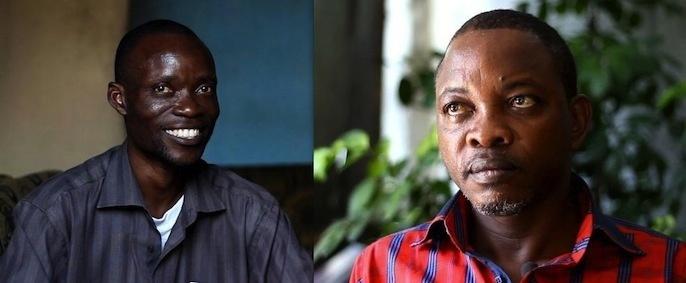 La journée de deux journalistes congolais