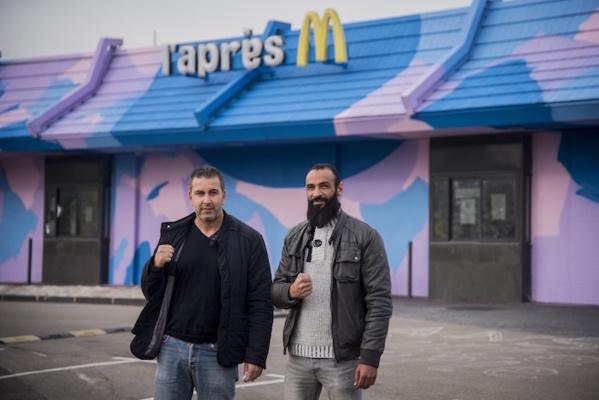 Sur Reporterre : à Marseille, le McDo devenu foyer de solidarité