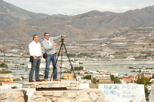 Emmanuel Razavi et Alain Buu en reportage
