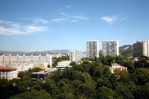 Marseille, 8ème arrondissement : jardin de Magalone © Radio France - 2012 / Vincent Desjardins
