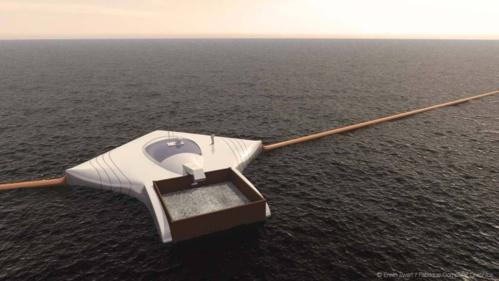 La machine qui nettoierait les océans tout en les respectant.