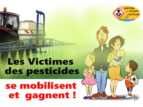 Les victimes des pesticides parlent