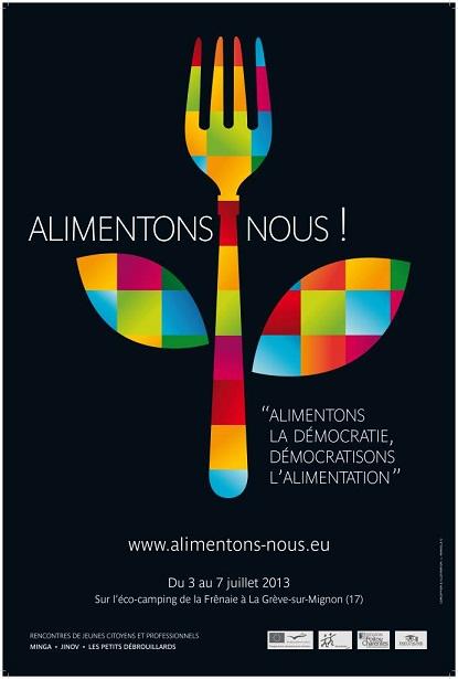 """Campagne """"Alimentons-nous"""" menée par Minga."""