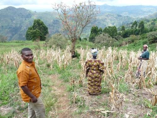 Théogène porte la voix des agricultrices du Kivu