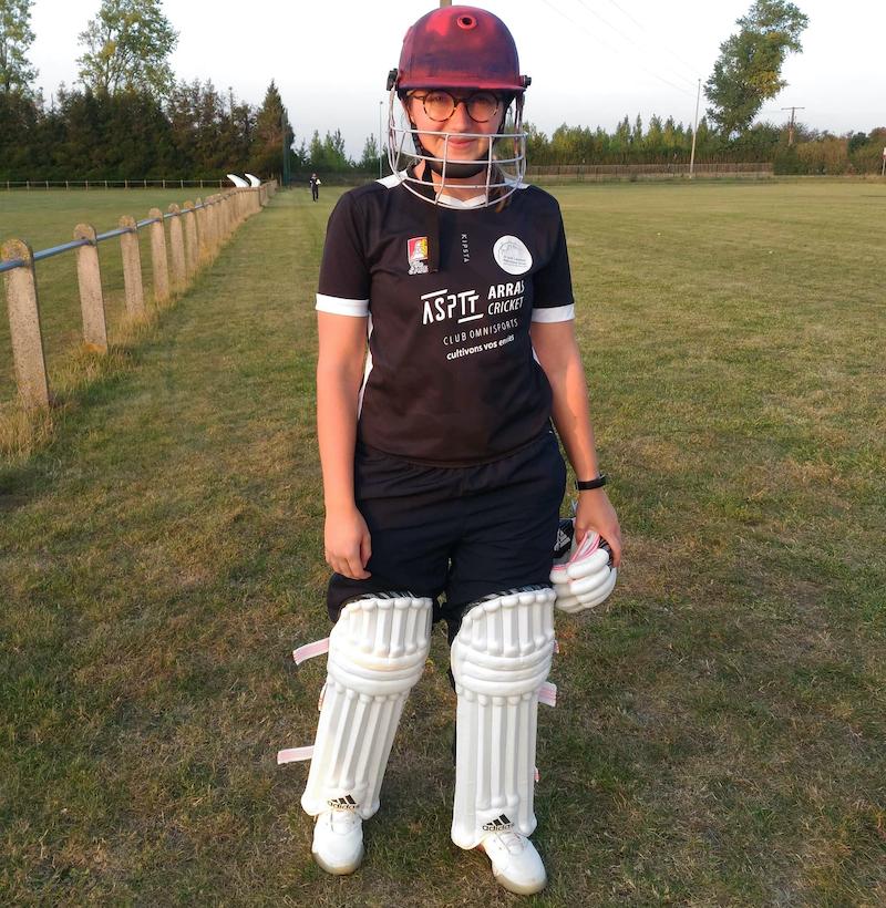 Les jeunes Afghans ont fait de Louise une championne de cricket
