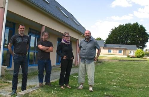 Florent, Bertrand, Marion et Patrice