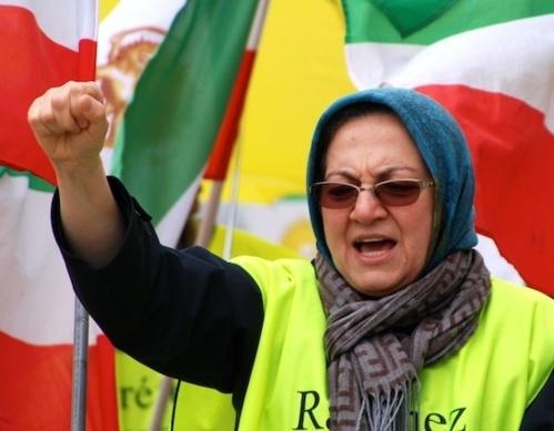 Parnian manifestant à Paris