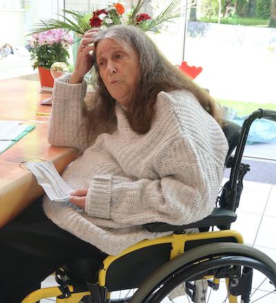 Huguette Le Gall, jusqu'à la mort, accompagne la Vie